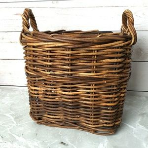 Large Thick Woven Wicker Basket